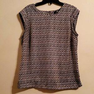 Abs Platinum back button up shirt